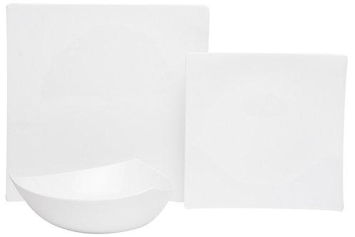 Extreme White 18Pc Dinner Set