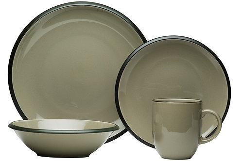 Vanilla Hampshire Grey 16Pc Dinner Set