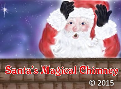 Santa's Magical Chimney by Christine DerOhannesian
