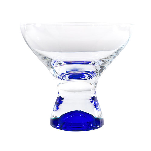 Samba Colors Martini / Dessert Glass 11oz Set/6 Blue