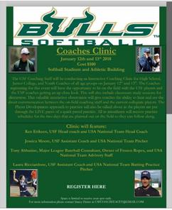 Tony Abbatine at Bulls Softball Coaches Clinic