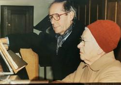 Cécile Morel et Bernard Deberdt 1993