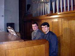 Nicolas Pichon et Paolo Oreni en 2004.JPG