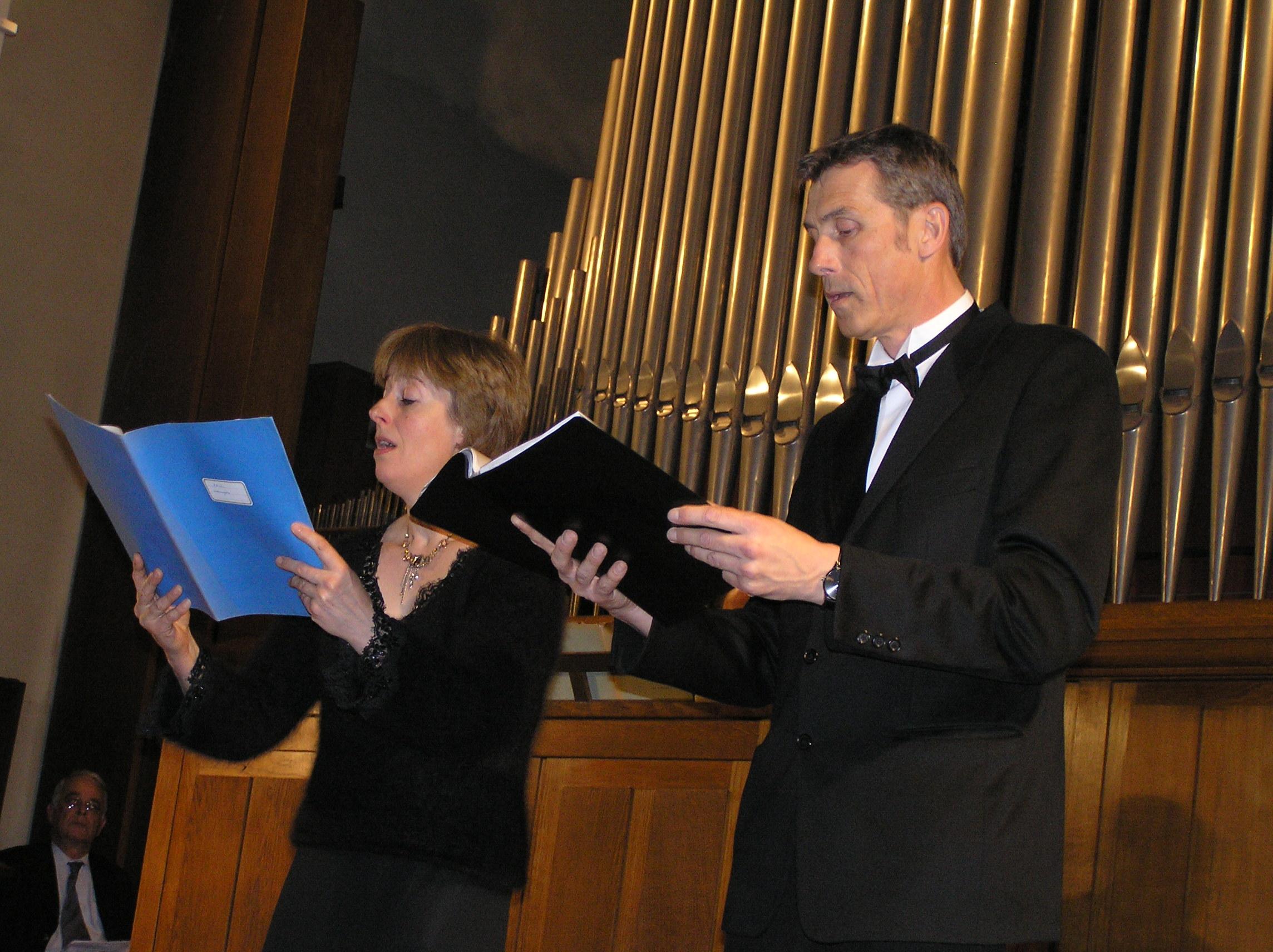 Pascale Meesemaecker et Didier Houque concert du 5 mai 2006