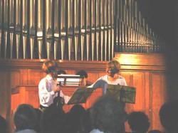 Blandine Desprets et Mireille Smette concert aaom 2005