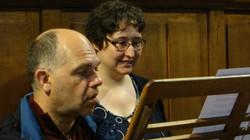Edith Gorisse et Vincent Rigot