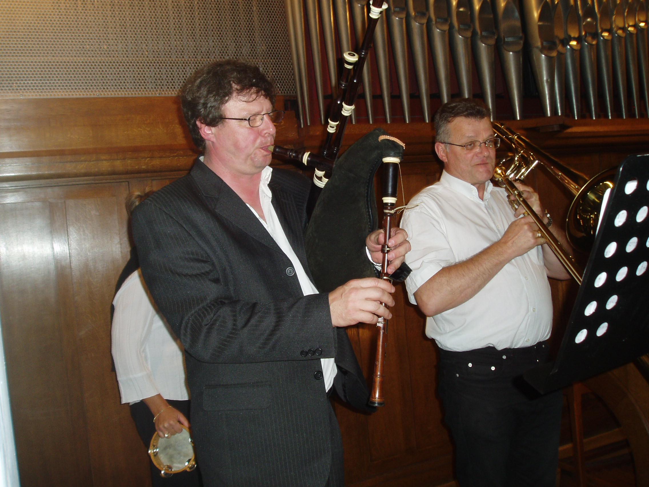 Michel Gossaert et Franz Boursin le 15 septembre 2007