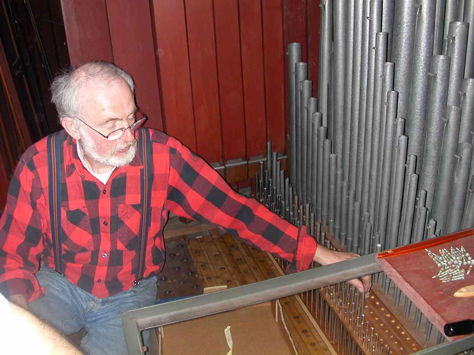 Bernard Bocquelet, facteur d'orgues