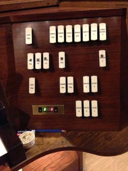9 Visuel du combinateur à la console