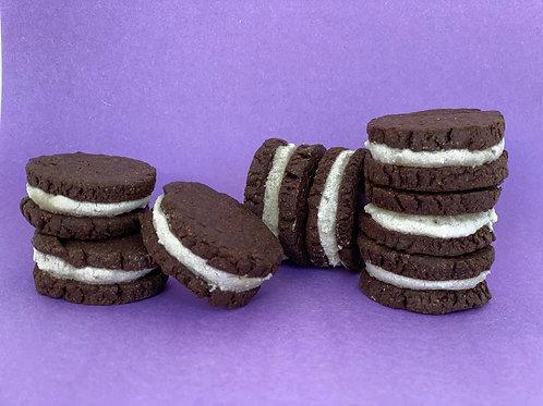 Carob Cream Cookies
