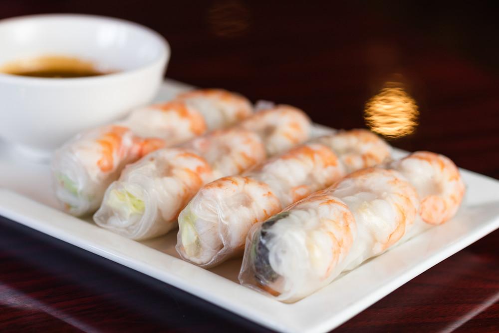 Goi Cuon (Shrimp & Pork Spring Roll)