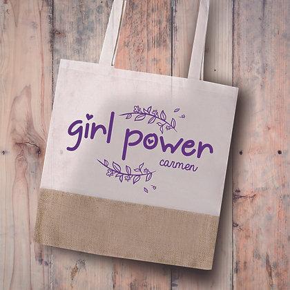 Bolsa tela GirlPower