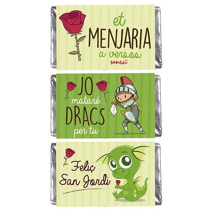 Chocolatinas Sant Jordi