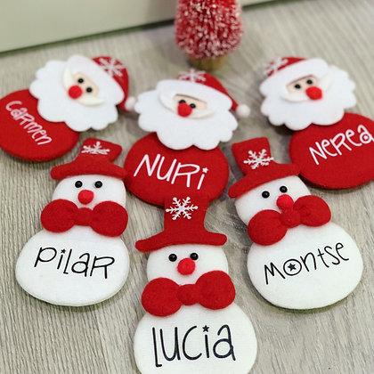 Imán Navidad Personalizado