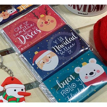 Pack 3 Chocolatinas Navidad