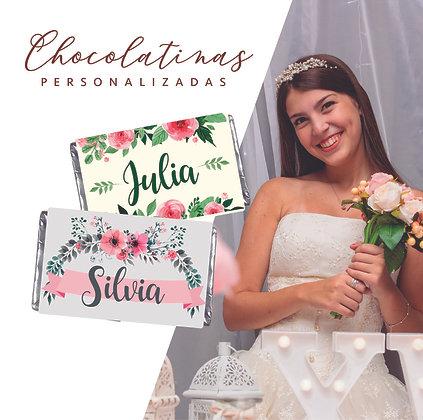 12 Chocolatinas 15años