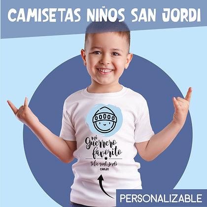 Camisetas Infantiles Sant Jordi