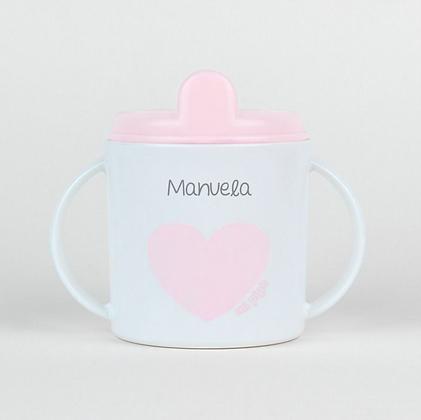 Taza bebé rosa o mint