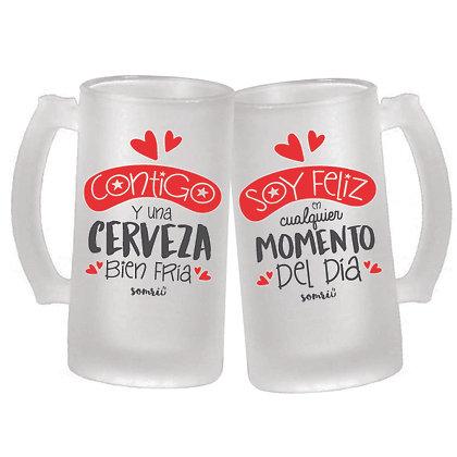 Jarras Cerveza DUO
