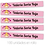 Thumbnail: Cinta termoadhesiva Marcaprenda Personalizada rosa