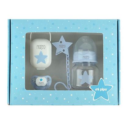 Cajita My Basics Estrella Azul Personalizada