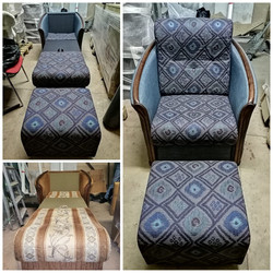 Перетяжка кресло-кровать