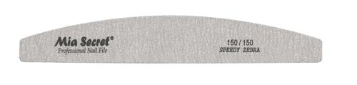Z05-H-150-150- Speedy Zebra Halfmoon Nail File #150