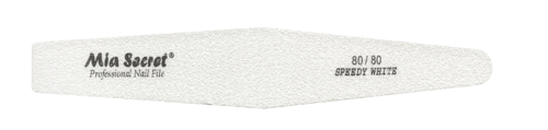 WF730-80-80- SPEEDY WHITE DIAMOND NAIL FILE #80