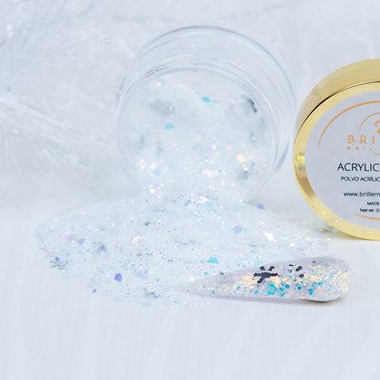 Acrylic Powder | White Snow Flake