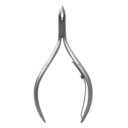SILVER CUTTICLE NIPPER 6 MM