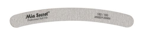 Z06-C-180-180- Speedy Zebra Curve Nail File #180