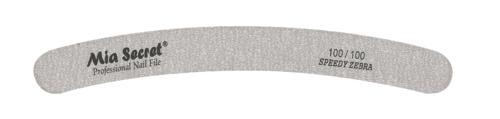 Z06-C-100-100- Speedy Zebra Curve Nail File #100