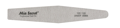 Z03-D-100-100- Speedy Zebra Diamond Nail File #100