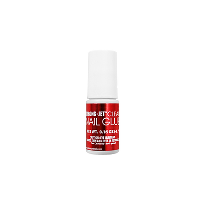 BRUSH ON STRONG-JET CLEAR NAIL GLUE 5G