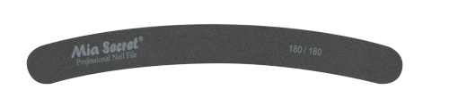 B07-C-180-180- BLACK CURVE NAIL FILE #180