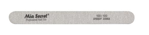 Z08-S-100-100- Speedy Zebra StraightNail File #100