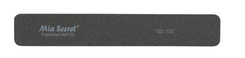 B02-J-100-100- BLACK JUMBO NAIL FILE #100