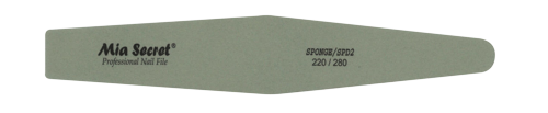 SPD2- SPONGE DIAMOND NAIL FILE #220/280