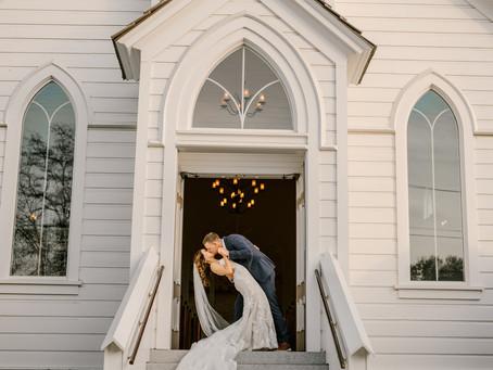 Blake & Ashley's Chapel Wedding