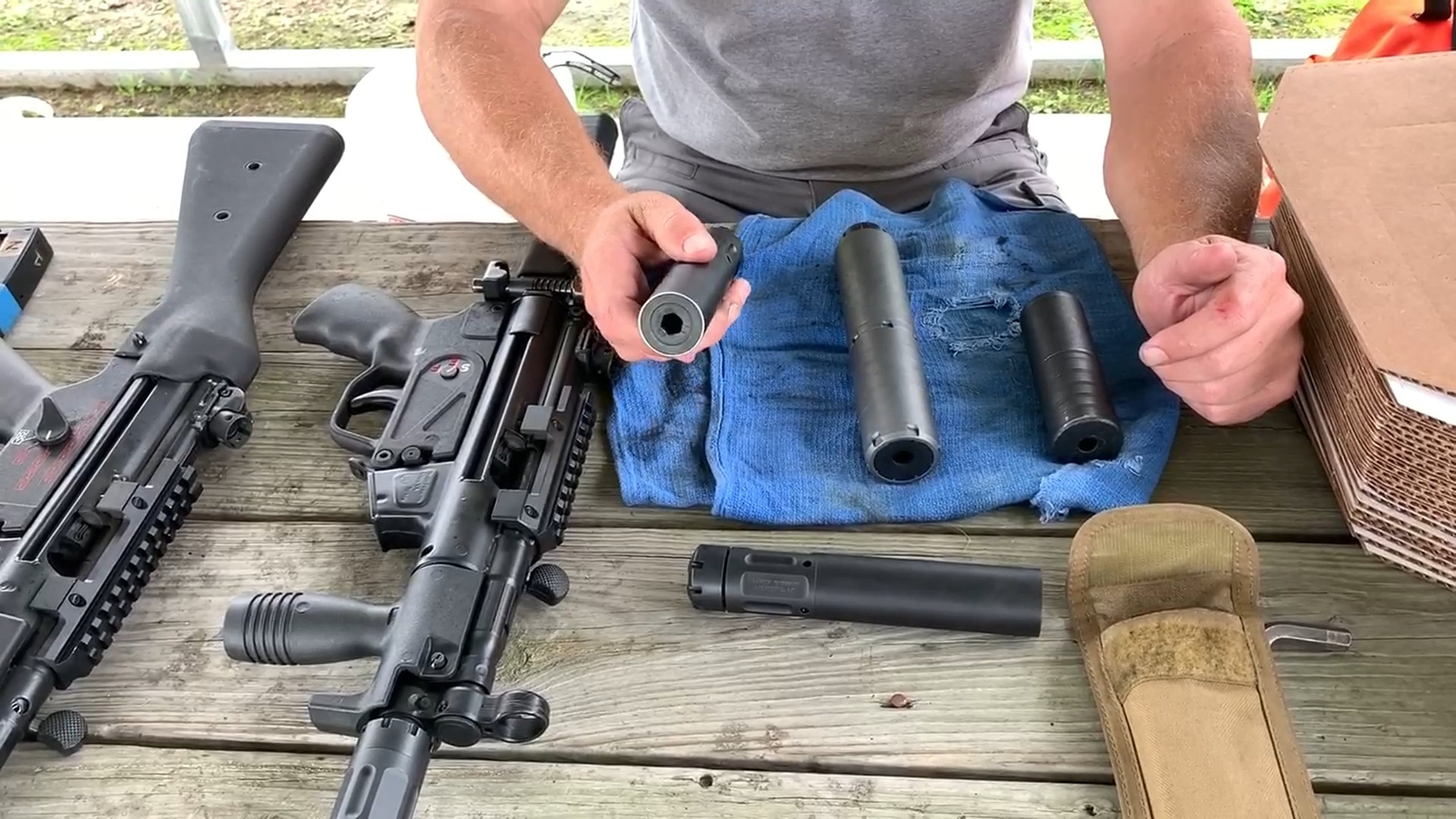 20-year SWAT w/11-years MP5 experience