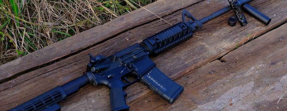 Lynx on Colt M4-A1 5.56