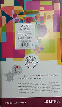 Cercle des Vignerons du Rhône - Vin de Pays du Vaucluse - 10L