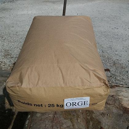 Orge en grains - Sac 25 Kg