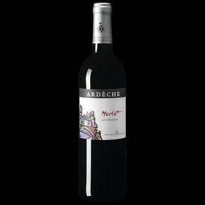 Vignerons Ardéchois - Merlot 2017 - Rouge