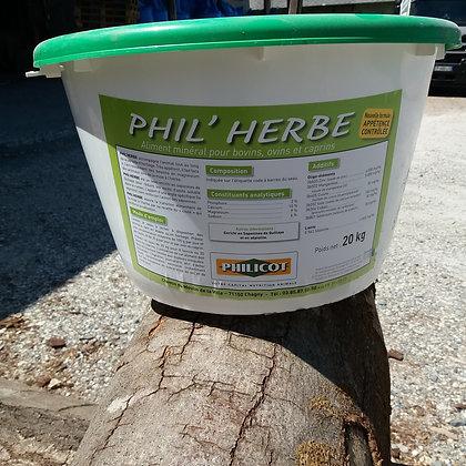 Phil Herbe - Seau 20 Kg