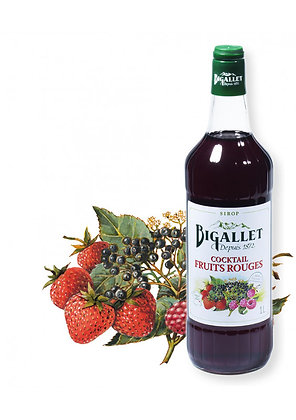 Bigallet - Sirop Cocktail Fruits Rouges - 1L