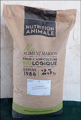 Maïs Biologique - Sac 25 Kg
