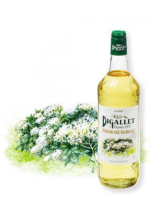 Bigallet - Sirop Fleur de Sureau - 1L