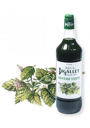 Bigallet - Sirop Menthe Verte - 1L
