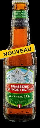 Cristal IPA du Mont Blanc - 12 x 33 cl